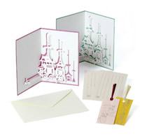 限定商品「切り絵カード 祇園祭」
