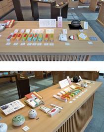 大阪本町店 季節の展示「練香」