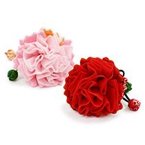 季節の提案商品「季節の香り袋 カーネーション 赤・ピンク」