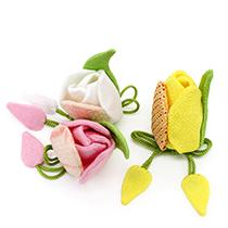 季節の提案商品「季節の香り袋 チューリップ」