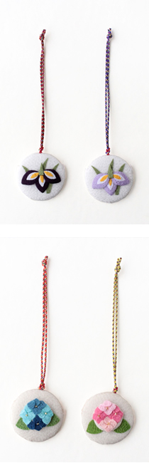 限定商品「香りの根付 あやめ/紫陽花」