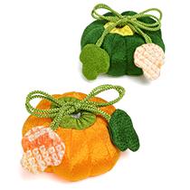 季節の提案商品「季節の香り袋 かぼちゃ」
