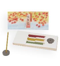 秋の提案商品「かおり三種揃 秋景色」
