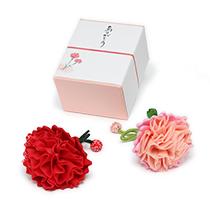提案商品「季節の香り袋 カーネーション 赤・サーモンピンク」