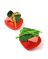 季節の提案商品「季節の香り袋 柿」