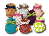 季節の提案商品「匂い袋 藤袴」